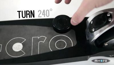 Emicro One knob